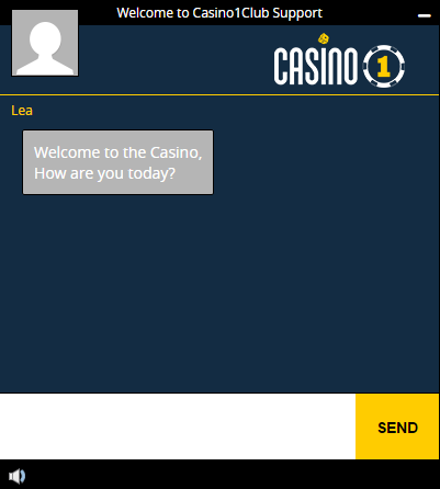 Casino1 Customer Support