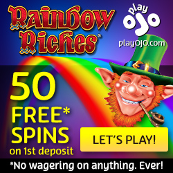 OJO casino 50 free spins