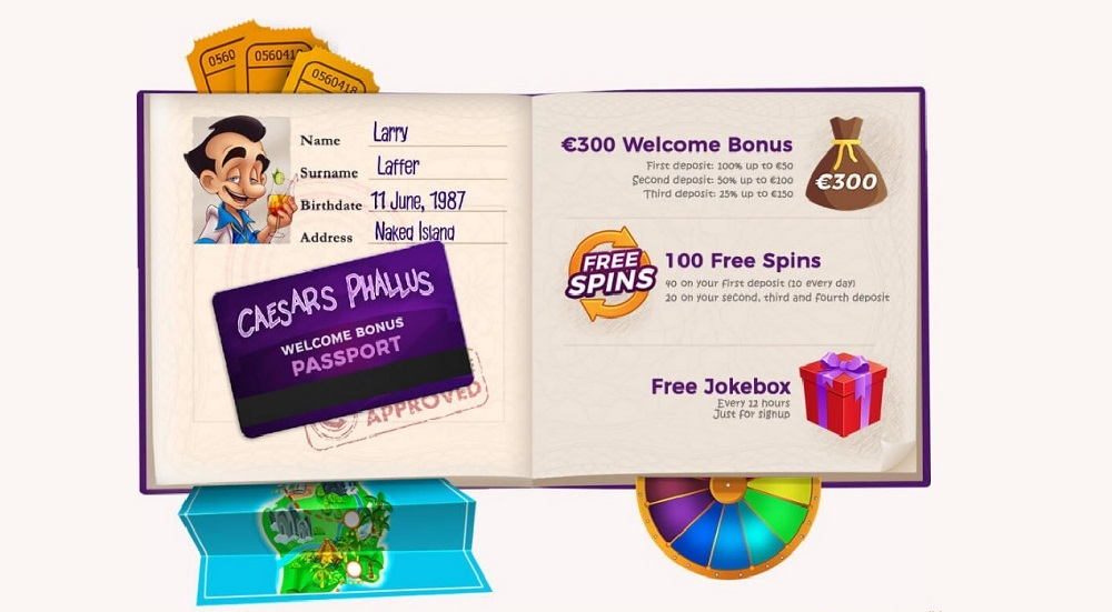Larry Casino Welcome Bonus