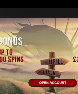 Lucky Thrillz Casino Homepage