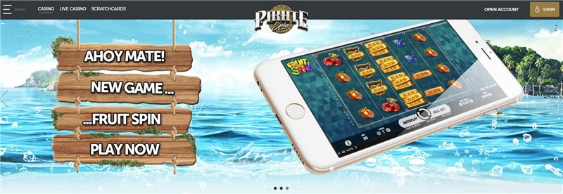 PirateSpin Mobile Games
