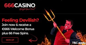 666 Casino Welcome Bonus
