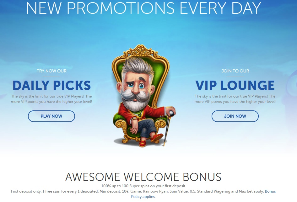 LuckyLouis Casino - Promotion Offers