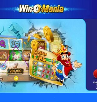 WinOMania Casino Homepage - Free New Player Bonus