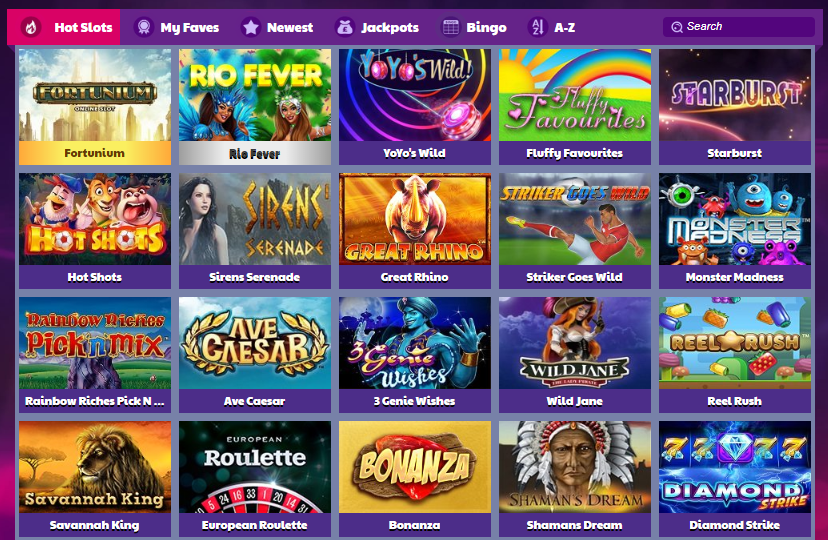 MoneyReels Casino Games