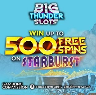 Big Thunder Slots Casino - Welcome Offer