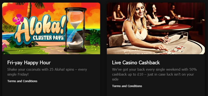 MansionBet Casino - Other Promotions