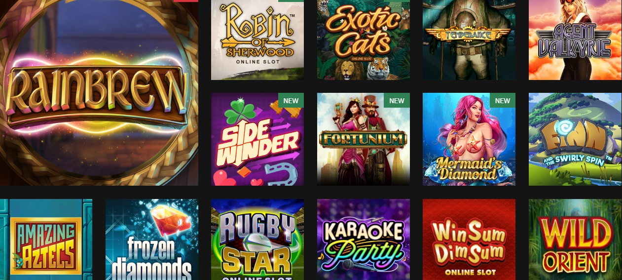 MansionBet Casino Popular Games