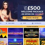 PlayUK Casino - Homepage