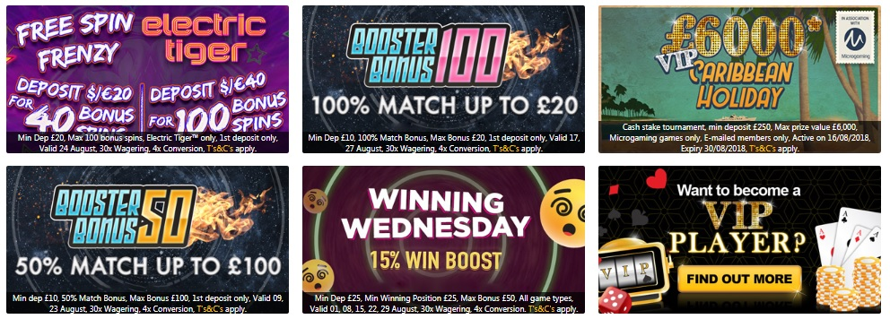 PlayUK Casino - Promotion Offers